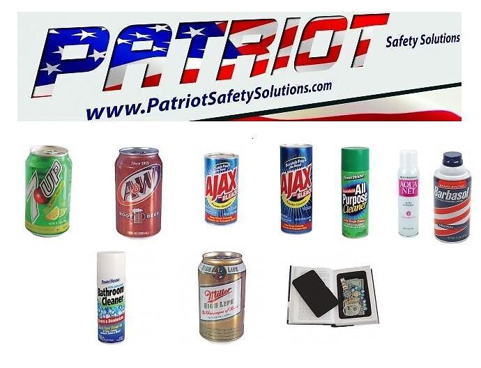 Diversion Safes by patriotsafetys