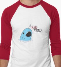 Narwhal! Men's Baseball ¾ T-Shirt