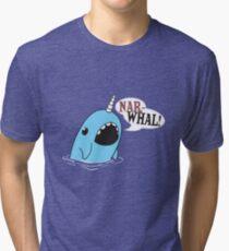 Narwhal! Tri-blend T-Shirt