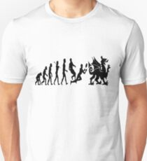 Welsh evolution Unisex T-Shirt