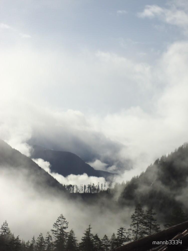 Sunrise Fog by mannb3334