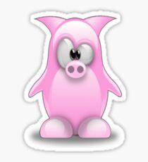 Piggy tux Sticker
