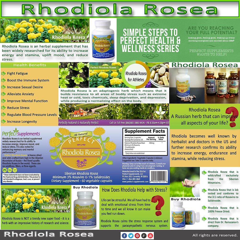 Rhodiola Rosea by BuyRhodiola
