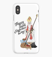 Saint Nicholas' day iPhone Case/Skin