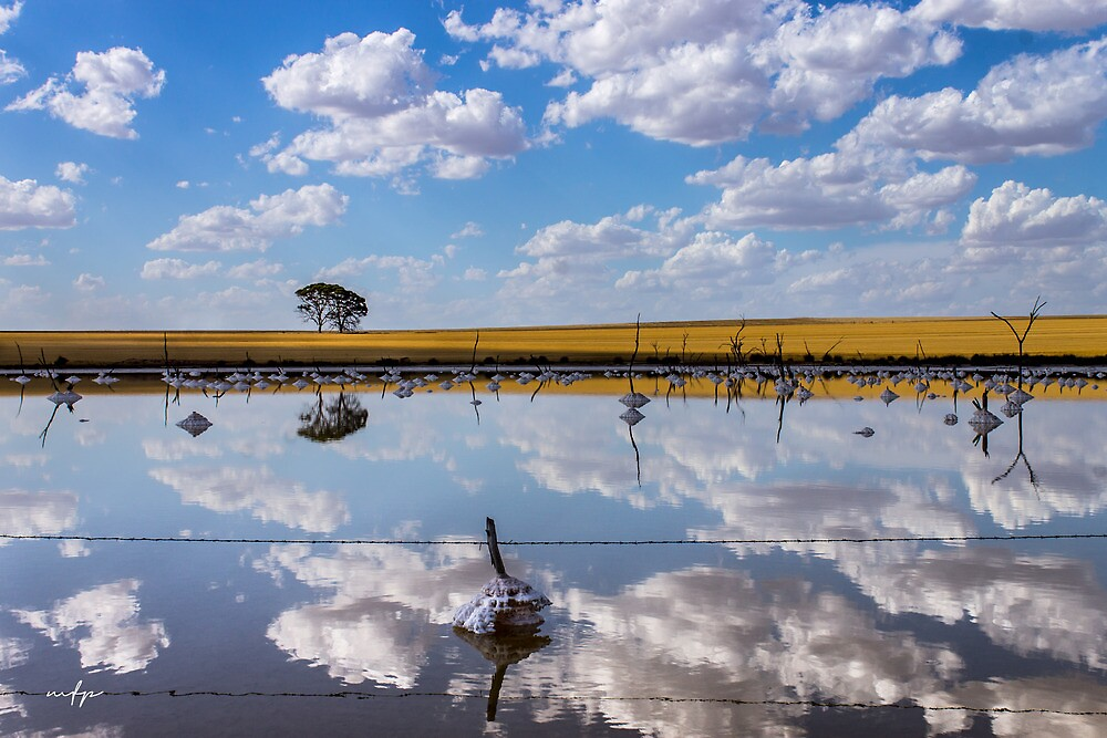 Badjaling Salt Lake by Matt Fricker