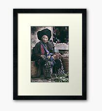 Black Dao... Framed Print