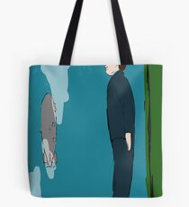 Levitating Blimp from My Year as a Rabbit Tote Bag