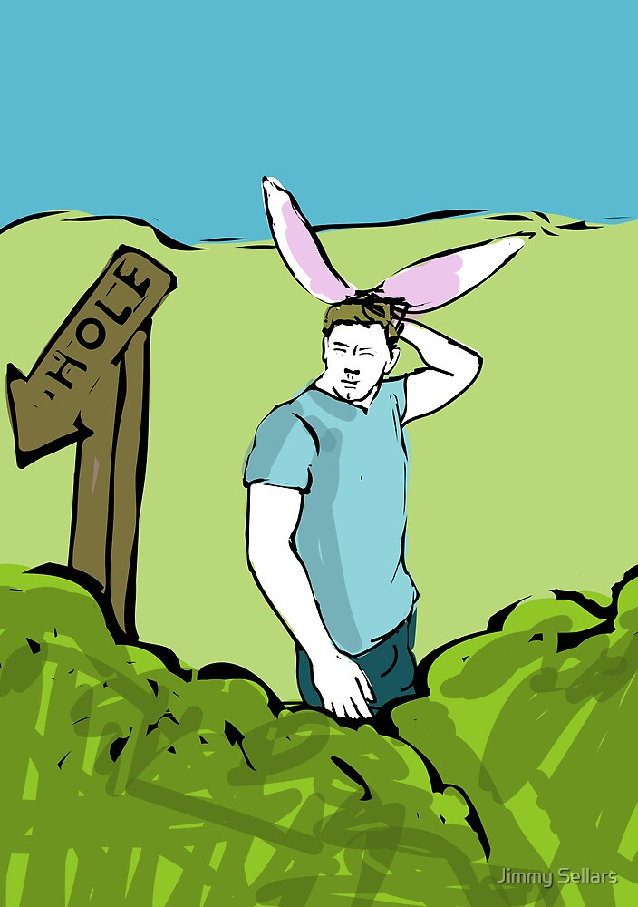 One in the Hole from My Year as a Rabbit by Jimmy Sellars