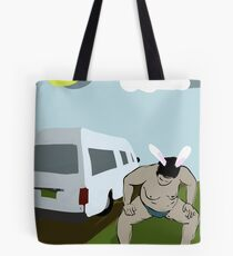 Sumo Summer Vacation from My Year as a Rabbit Tote Bag