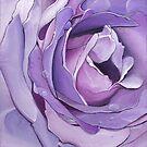 A Purple Rose by Jennifer Gibson