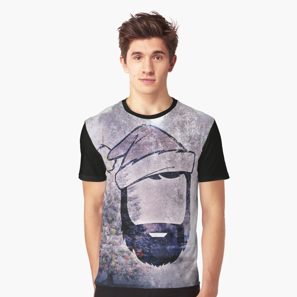 A Very Hipster Christmas Graphic T-Shirt Front