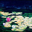 Water lilies by Luigi Maria De Rubeis