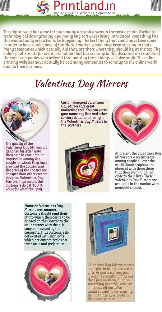 Personazlied Valentines Day Mirrors by Raj Kundra