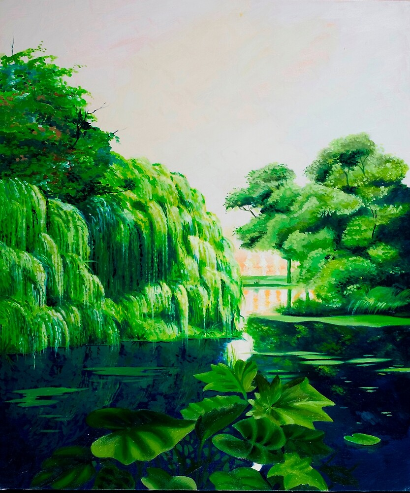 Green swamp by Luigi Maria De Rubeis
