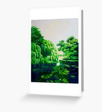 Green swamp Greeting Card