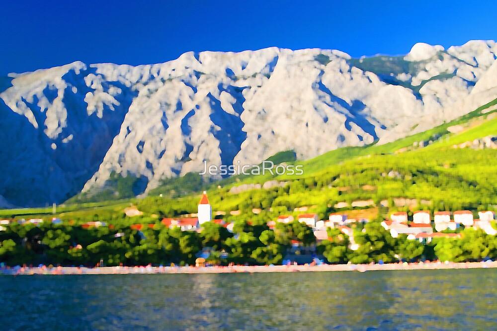 Croatia Mountainside by JessicaRoss