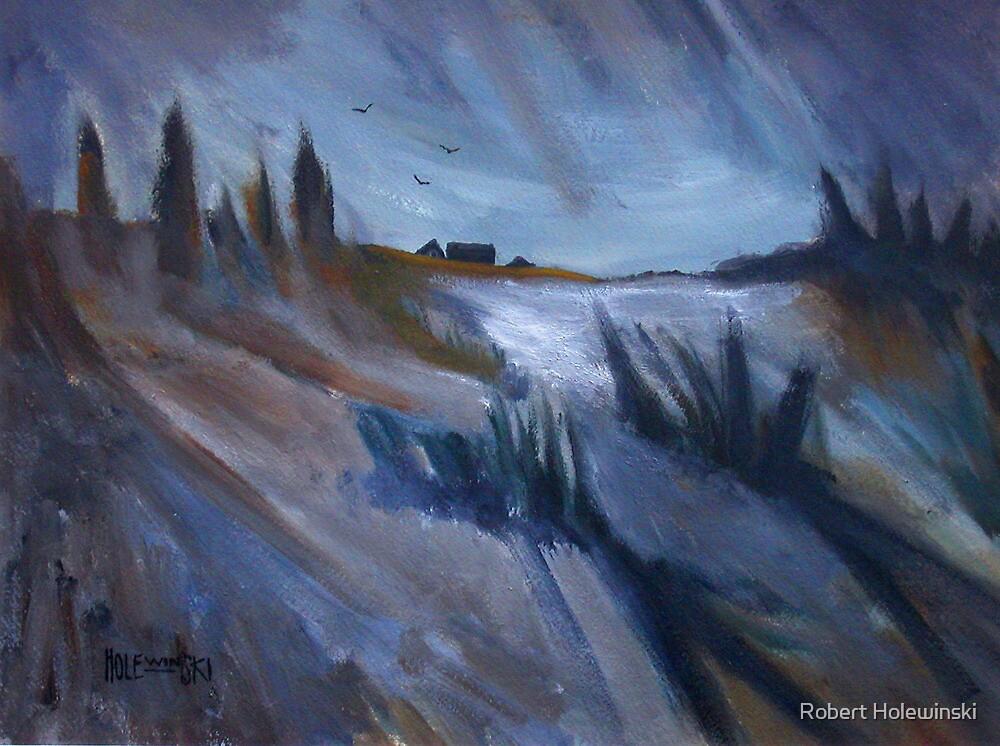 A Winter Sketch by Robert Holewinski