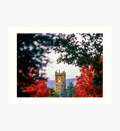 Clock Tower—Government House Tasmania Art Print