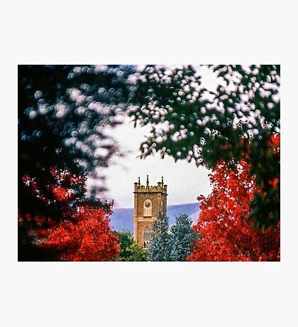 Clock Tower—Government House Tasmania Photographic Print
