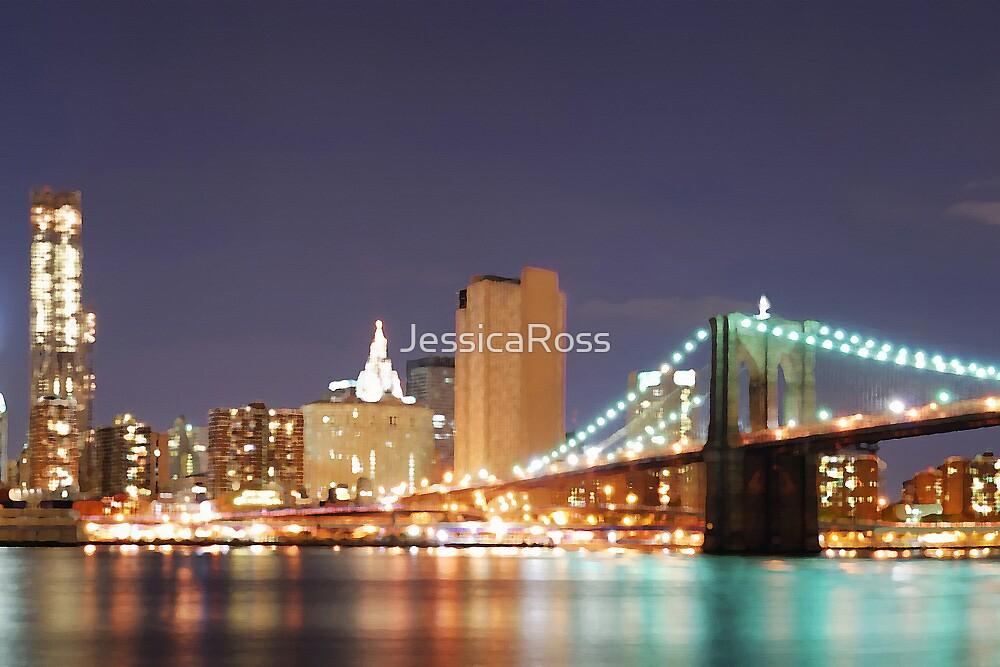 New York City Skyline by JessicaRoss