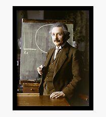 Lámina fotográfica Albert Einstein, 1921