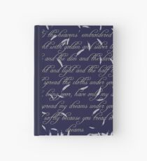The Cloths of Heaven Hardcover Journal