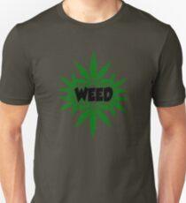 weed ganja  smoke for rasta Unisex T-Shirt