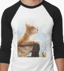 My Neighbour's Cat Men's Baseball ¾ T-Shirt