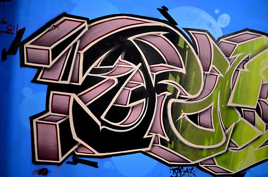 Graffiti up close  by Schoolhouse62