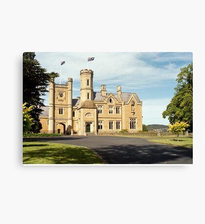 Government House Tasmania Canvas Print