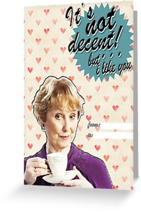 Mrs. Hudson Valentine's Day Card by thescudders