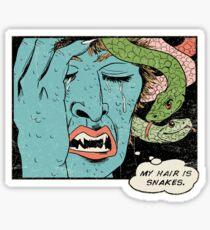 Mythical World Problems Sticker