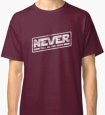 Never Tell Me The Odds (aged look) Classic T-Shirt