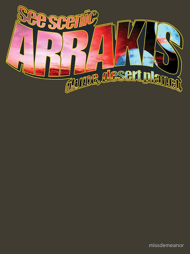 See Scenic Arrakis by missdemeanor