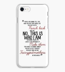 Once Upon a Time - Emma swan Quote iPhone Case/Skin