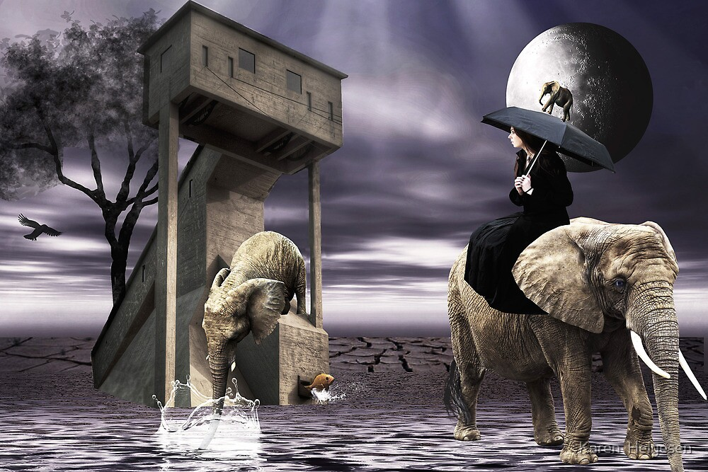 Illusions.... by Karen  Helgesen
