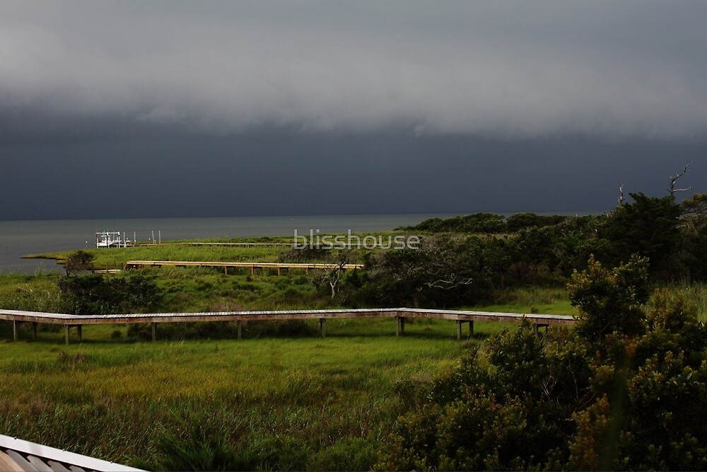 Pamlico Sound storm by blisshouse