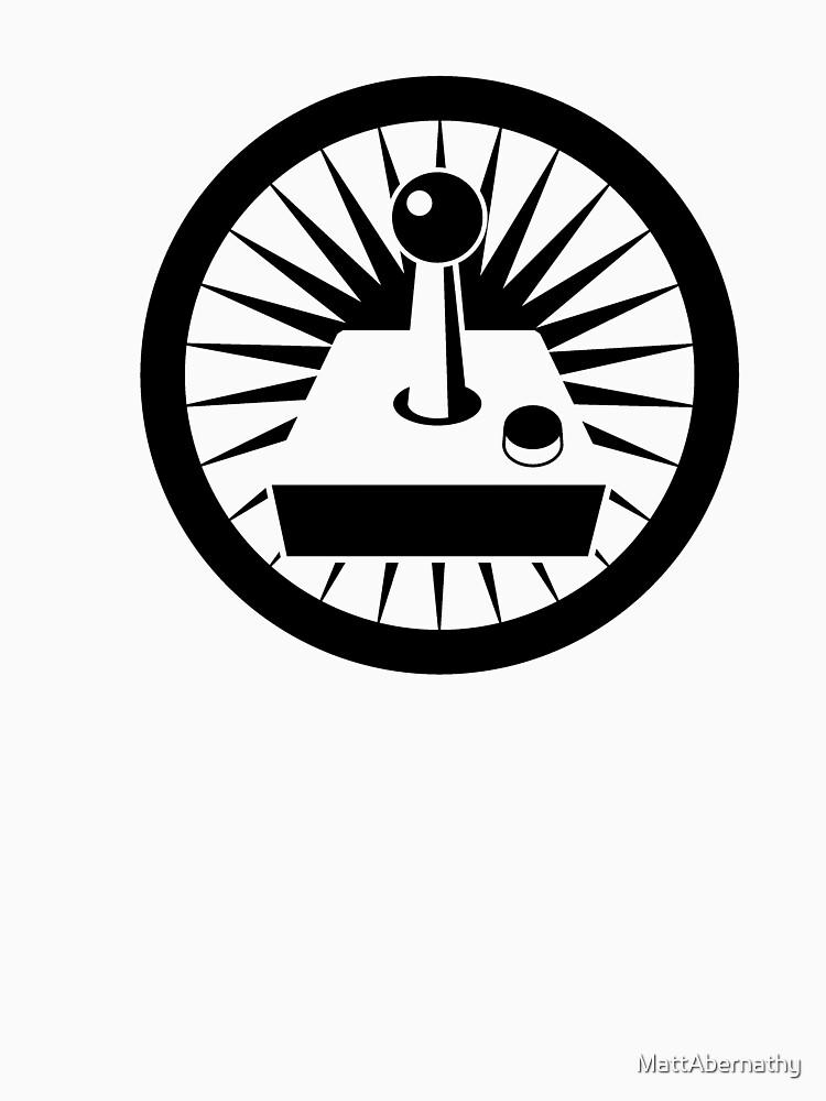 Retro Joystick (Black) by MattAbernathy