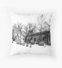 We Buried Them There Throw Pillow
