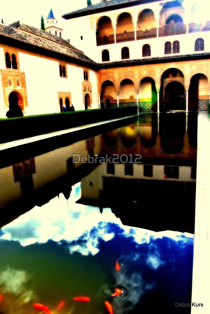 Reflections in Alhambra Grounds by Debrak2012