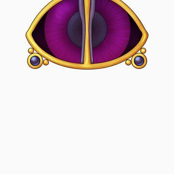 Original Psychic Gym Badge  by NeonHeart