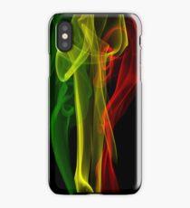 Rasta Smoke Phone Case (Vertical) iPhone Case