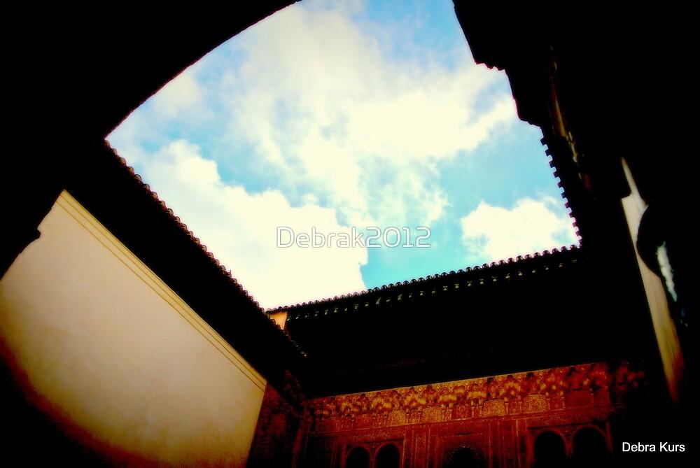 Blue Sky over Alhambra by Debrak2012