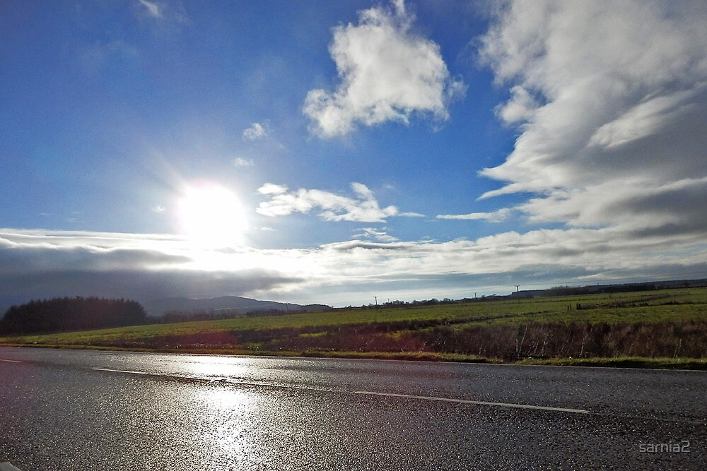 The morning sun - South West Scotland by sarnia2