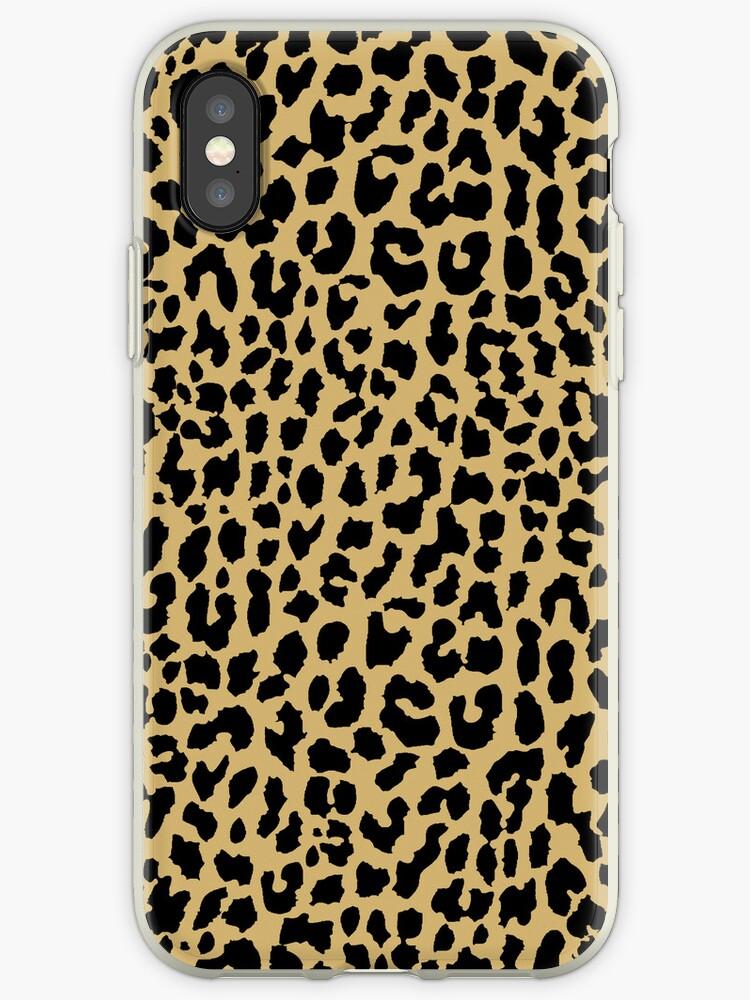 Neon Classic Leopard by Mango Tangerine Studio