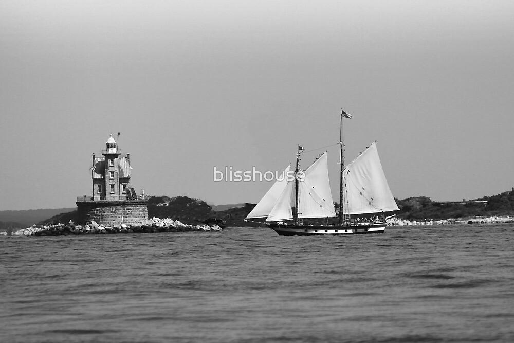 Fisher's Island schooner by blisshouse