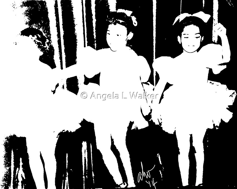 Little Ballerinas by © Angela L Walker
