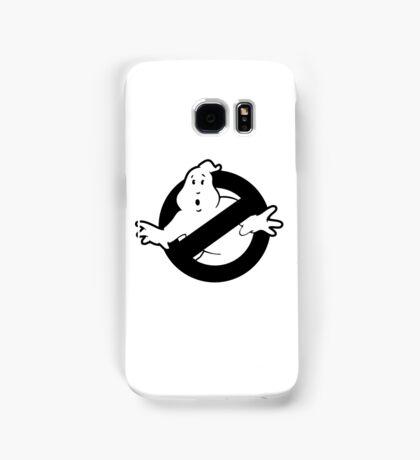 Original Ghostbusters Logo (in black and white) Samsung Galaxy Case/Skin