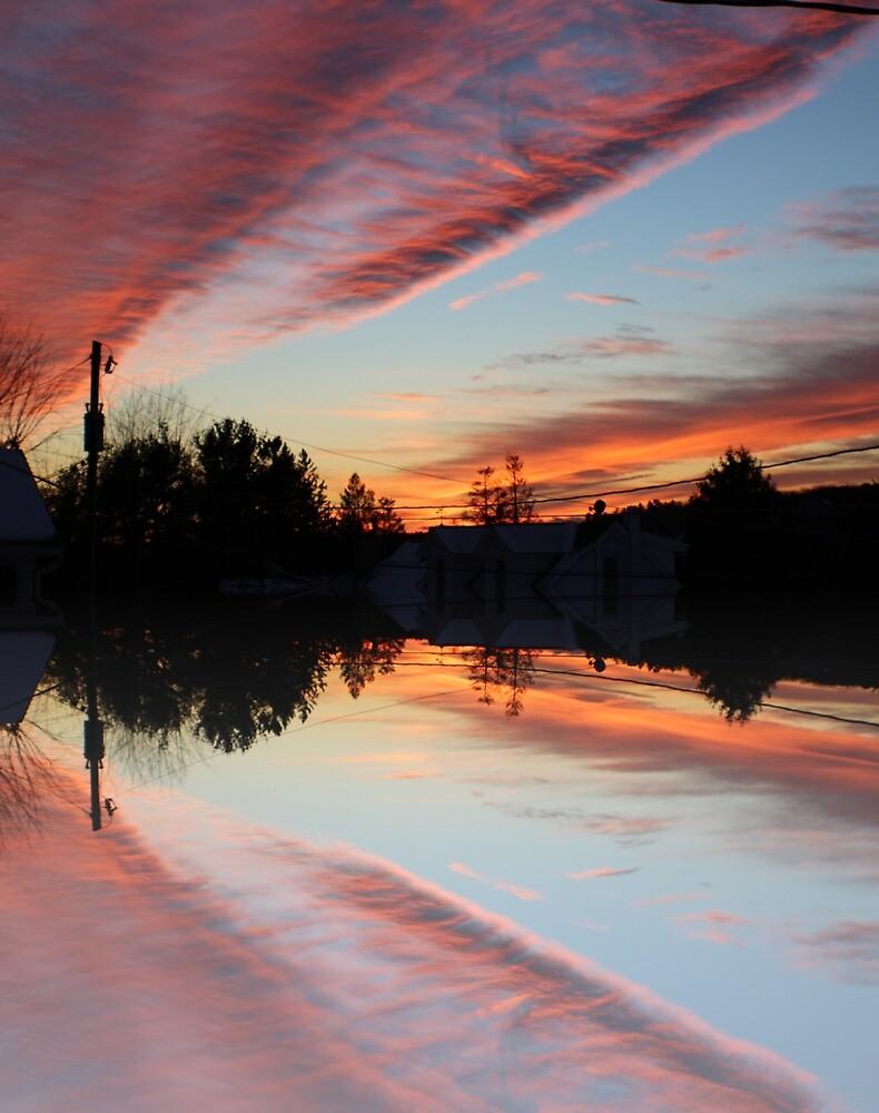 Blazing Sunset by Kennedy Straitiff