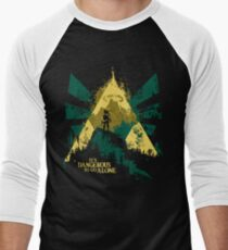 It's Dangerous To Go Alone Men's Baseball ¾ T-Shirt